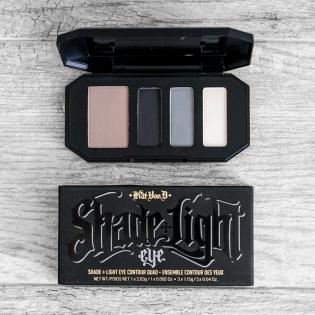 KVD Smoke Quad Eyeshadow Palette Shade Light
